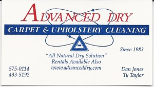 dry carpet cleaning history