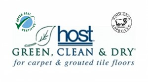 HOST dry carpet cleaning logo
