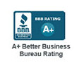 BBB-A+ Better Business Bureau